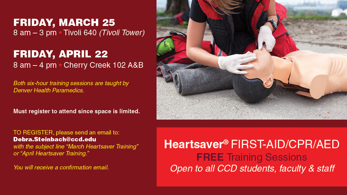 Campus Community Preparedness Training Heartsaver First Aid Cpr