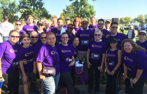 Group of CCD Faculty, Staff & Students at the Colorado Symphony 5K Fundraiser