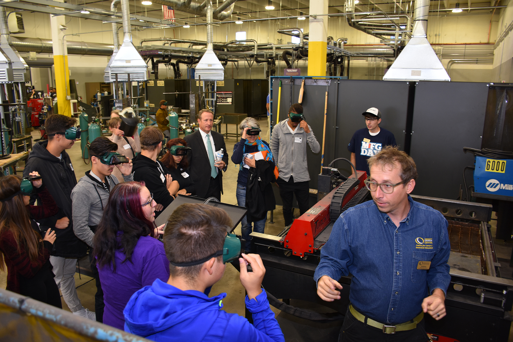 group at Advanced Manufacturing Center