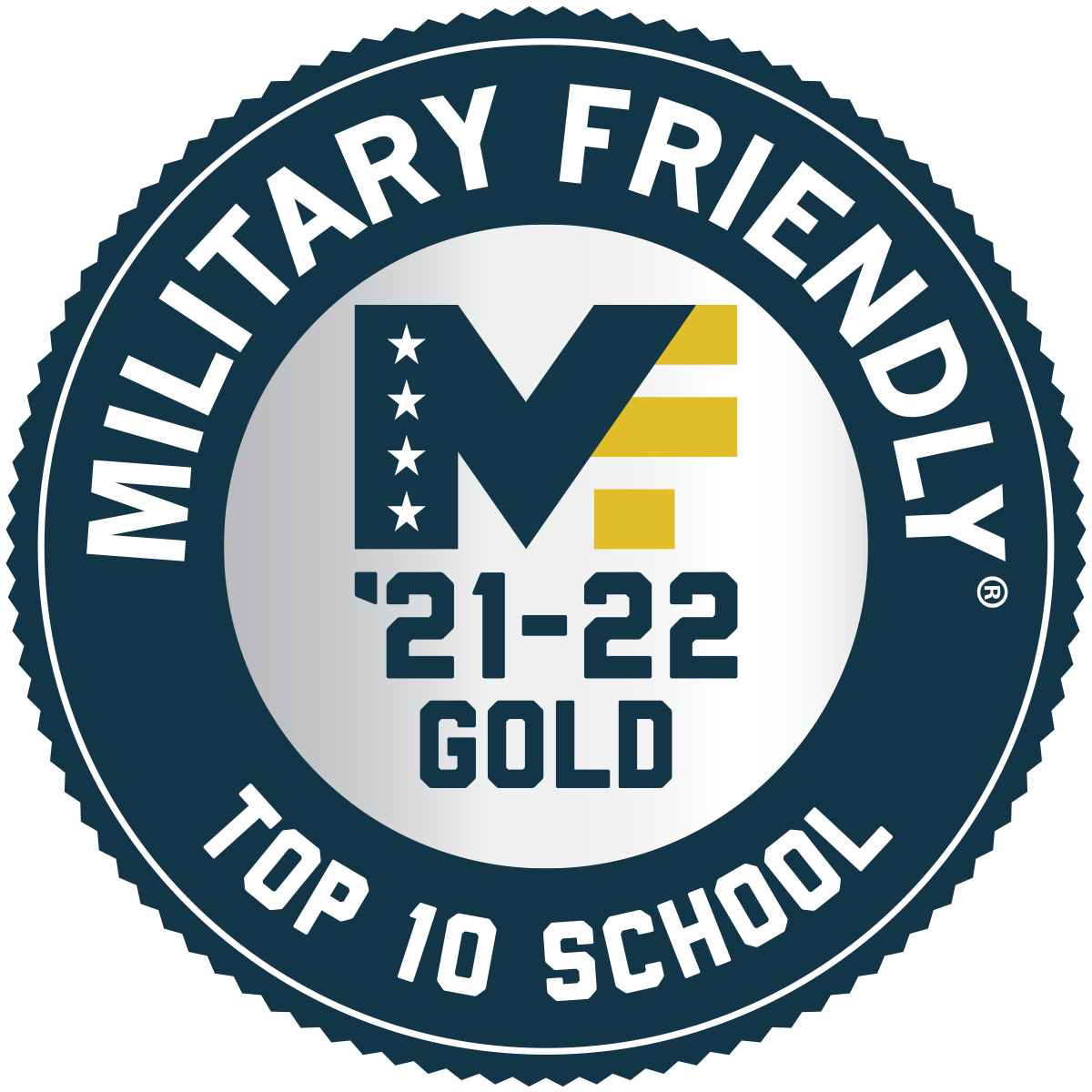 military friendly school seal