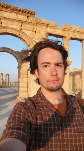 man at Palmyra in 2007