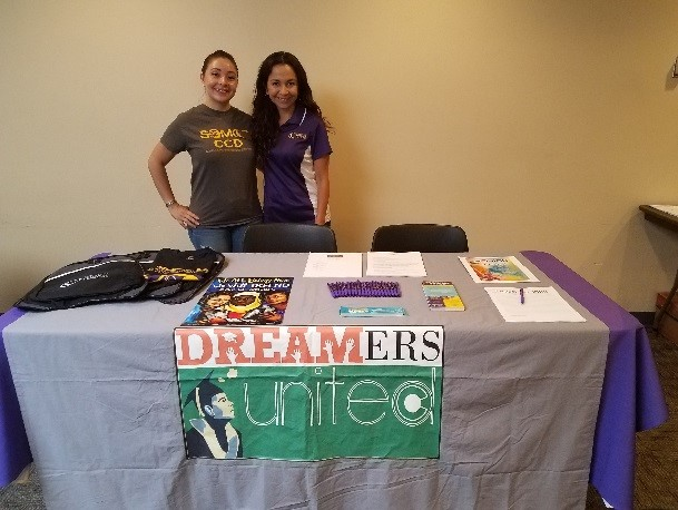 Scholarship Team and Dreamers United at the DACA Workshop on the Auraria Campus