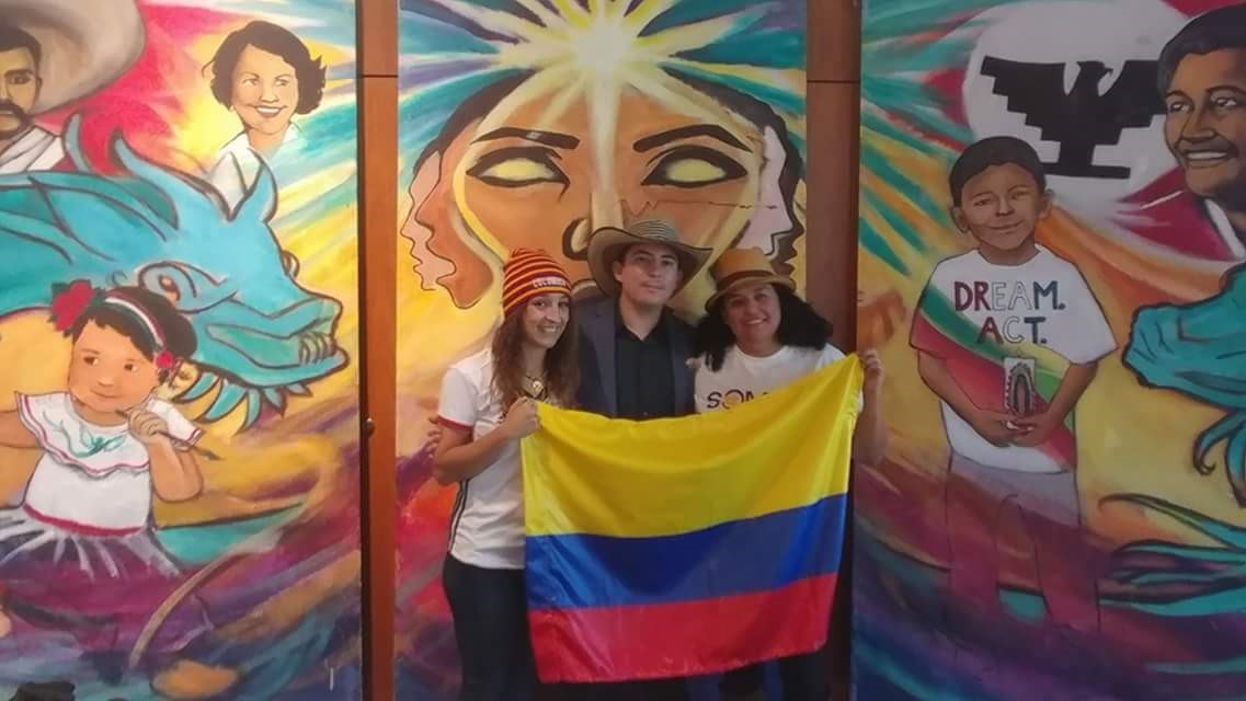 Representing Colombia at the CCD Somos event