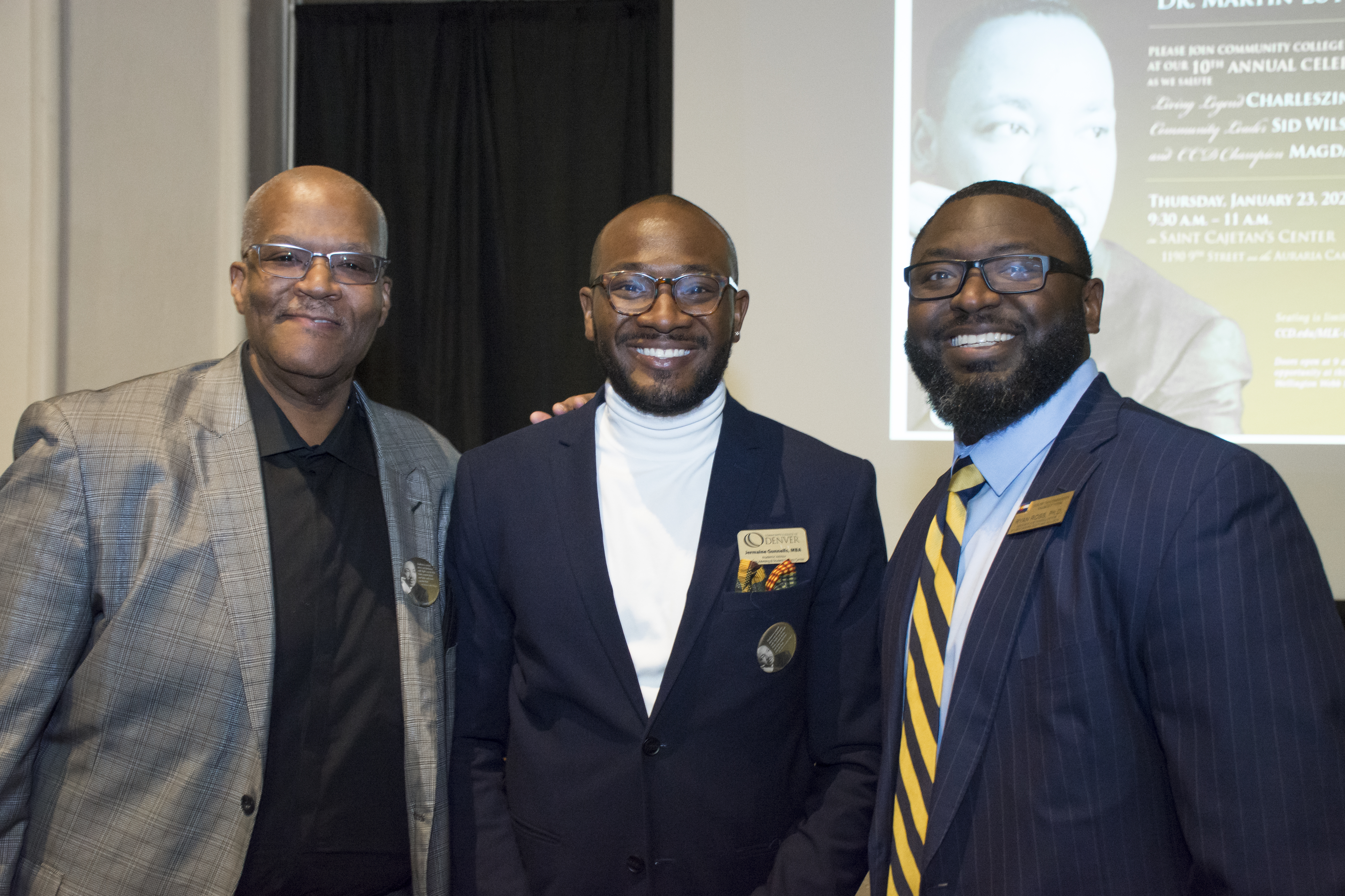 CCD staff members gather for a photo at MLK Celebration breakfast 2020.