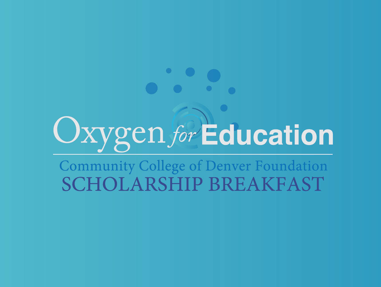 logo for Oxygen for Education event