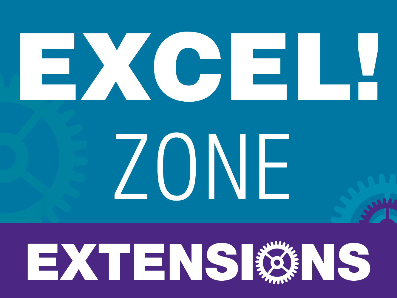 excel zone extensions poster