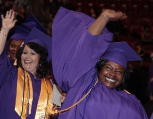 CCD Academic Honor Students at 2014 Graduation