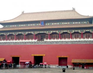 Front gate of the Forbidden City in Beijing