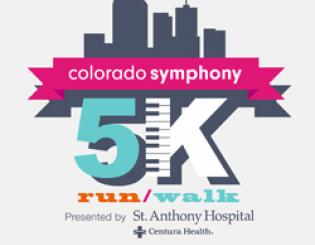 CCD Represented at the Colorado Symphony 5k Fundraiser with over 30 Participants