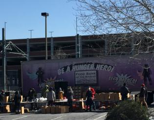 Auraria Campus Mobile Food Pantry