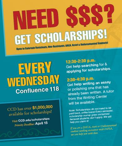 Need help on applying for scholarship?