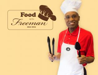poster of a man in chef gear