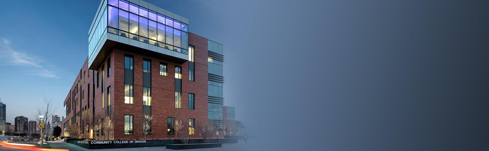 Confluence Building at Auraria Campus