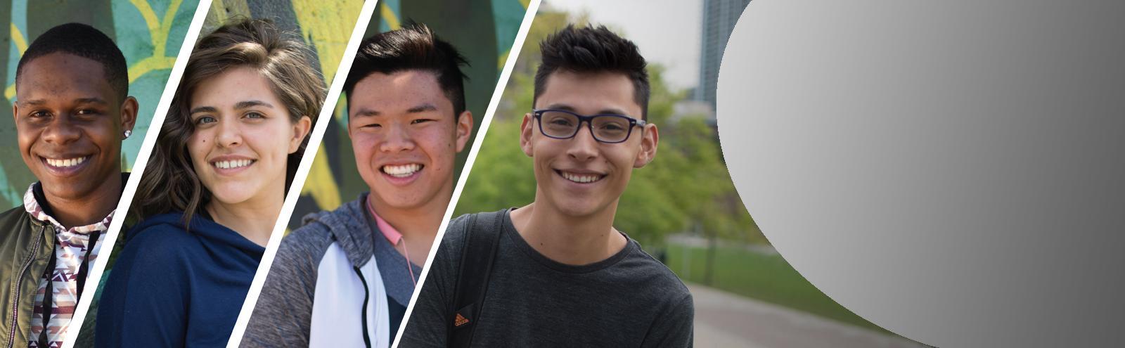 four concurrent enrollment students