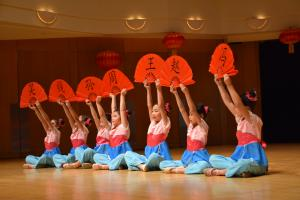 performance from a Chinese dance academy