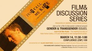Film and Discussion Series poster