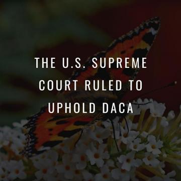 Good news, CityHawks! The U.S. Supreme Court ruled to uphold DACA.