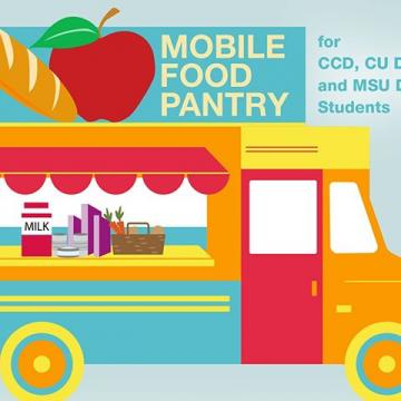 The Auraria Mobile Food Bank is back to serve the Auraria Campus community tomorrow, June 23rd, 9 - 11 a.m. They'll be on campus in the Walnut Parking lot located on the southwest corner of 5th and Walnut Streets.