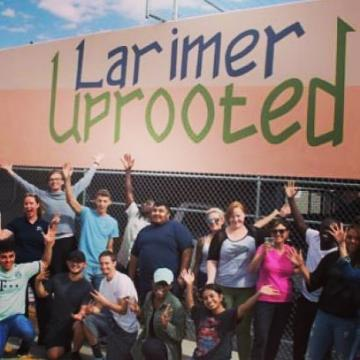 #TBT to that warm September day when CCD Nutrition students dug into some fun with @larimeruprooted