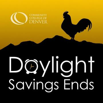 CityHawks, don't forget to set your clocks back this weekend. Daylight saving time ends at 2:00 a.m. on Sunday, November 3rd. #daylightsavings
