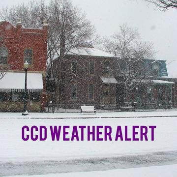 Due to inclement weather, the Auraria Campus and AMC will be CLOSING at 3:20 p.m. today, Monday, Feb. 3rd. As of 11:45 a.m. today, the Lowry Campus will remain open. As always, we encourage the campus community to evaluate their specific situation fo