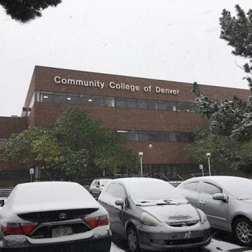 ❄️Weather Alert ❄️ CCD's Auraria Campus and Advanced Manufacturing Center (AMC) will open at 9 a.m. on Friday, February 7, 2020, due to the winter storm. Lowry Campus will open at its regularly scheduled time. As always, we encourage the camp