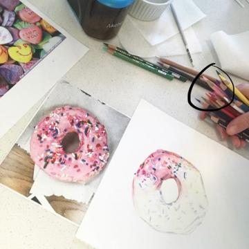 JOIN US! CCD's Dock Gallery is hosting a Virtual Artist Demo now through April 7! Artist Kate Woodliff O'Donnell teaches the art of colored pencils & hyperrealism virtually. All are welcome to join the event & submit their drawings using #CCDDockGall