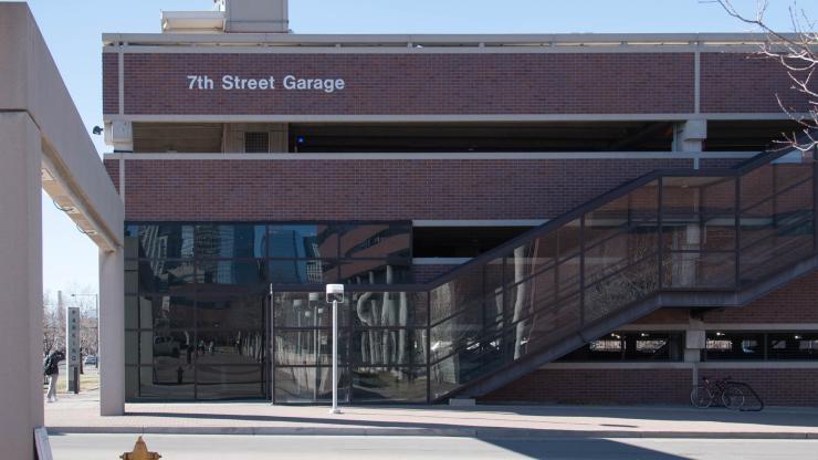 Auraria Campus 7th Street Garage