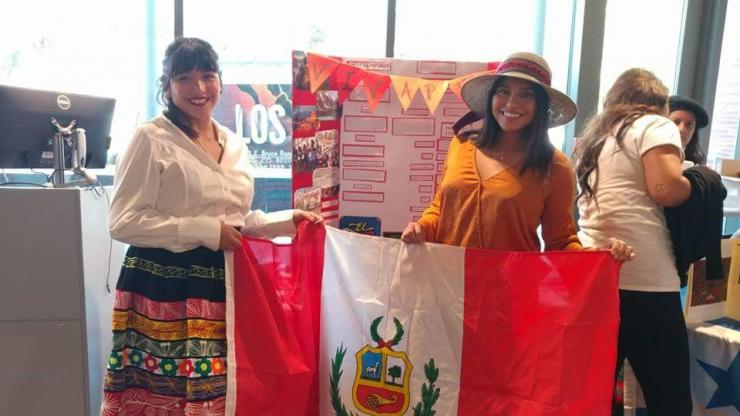 Representing Peru at the CCD Somos event