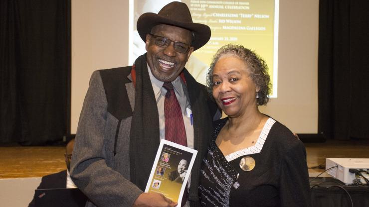 Sid Wilson awarded as Community Leader at MLK Celebration breakfast