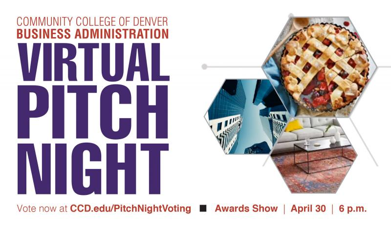 virtual pitch night text promotion